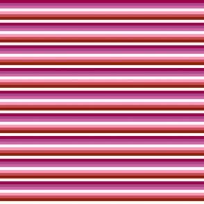 Lesbian 1/4 inch stripes