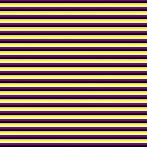 Enby 1/4 inch stripes