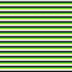 Aromantic 1/4 inch stripes