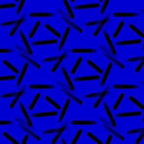 Star Blue Black Streaks