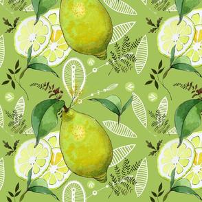 Botanical Lemon & Lace