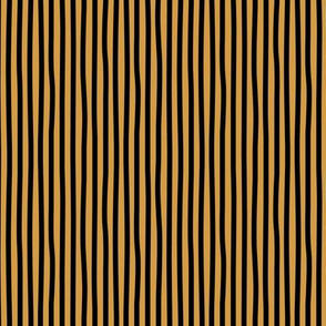 Bumblebee love stripes minimal basic strokes shape ochre yellow black SMALL