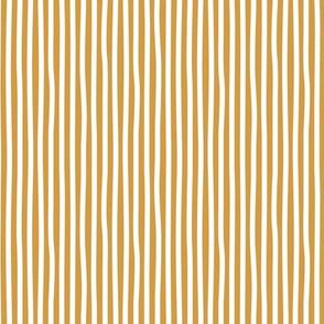 Bumblebee love stripes minimal basic strokes shape ochre yellow white SMALL