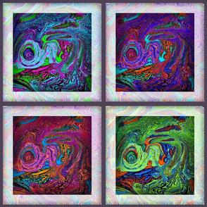 Framed Swirls