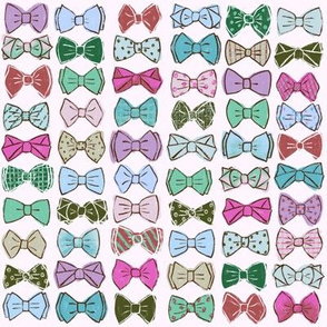 Bow Ties - Pink