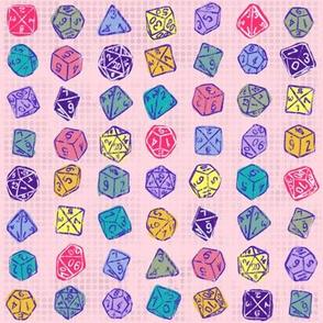 Dice Roll - Pink LG