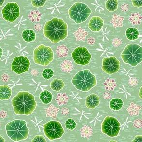 Lotus Daze - Green