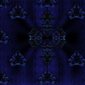 Dark blue nouveau