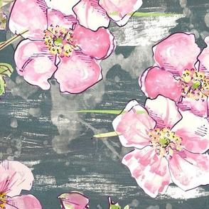 Pretty pastel floral - allover!