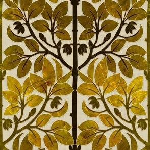 ART NOUVEAU Arbor (Brass)