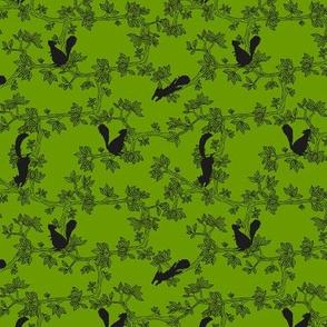 Squirrel, squirrel! Summer Green