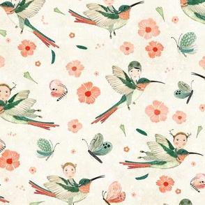 Hummingbird scouts cream {small}