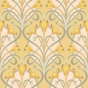 Crocus Art Nouveau_Chalky
