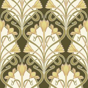 Crocus Art Nouveau_Costa del Sol-Yellow