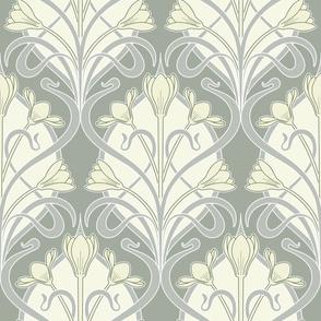 Crocus Art Nouveau_Bud