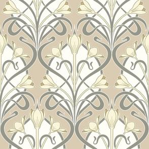 Crocus Art Nouveau_Neutral Colors
