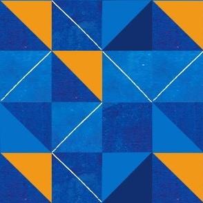 The Blues + Orange