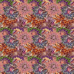 Blossom Effect Dahlia Rusting