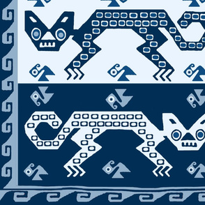 Peruvian Cats - Blue DC