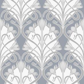 Crocus Art Nouveau_Gray Chateau