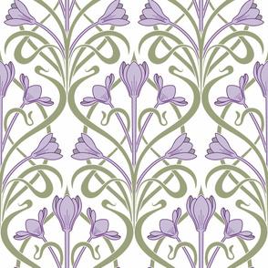 Crocus Art Nouveau_Lilac