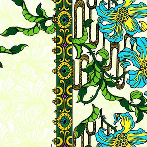 Art Nouveau Lattice