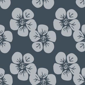 Forget me not - large blue
