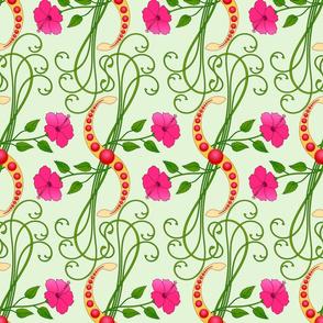 Hibiscus Wreath
