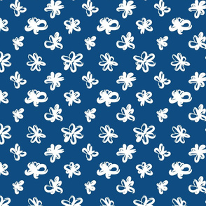 RibbonFlower ClassicBlue