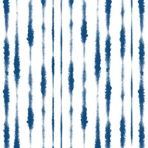 Classic Blue Wet Brushstrokes