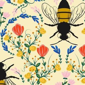 Bee Garden - medium scale
