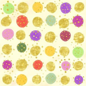 Morning Floral Dots