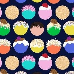 Technicolor Donut Holes