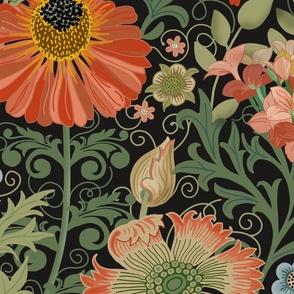 Le Jardin Art Nouveau black