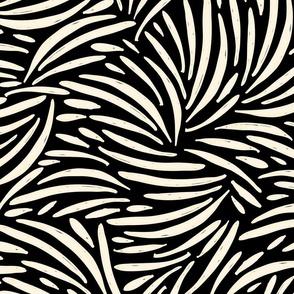Black and Ivory Boho Safari / Big Scale
