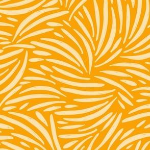 Golden Yellow Boho Safari / Big Scale