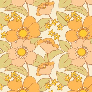 70s Floral Sunny Reduced