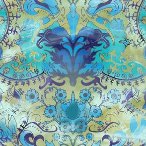 Misty Art Nouveau Dreams
