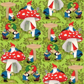 Normal scale • Vintage garden gnomes