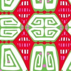 bright ethnic style design cw3