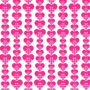 Heart Lines 1   -4 colourways in FQs