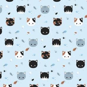 Wintery Cats