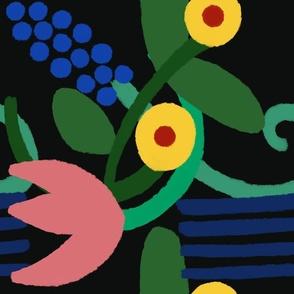 Flowers Medley -Large Print - by Jezli Fromjezpokili.com