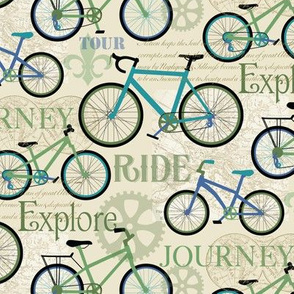 Bicycle Journey Blue small