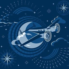 Blue Moon Flight © Christine Duffield