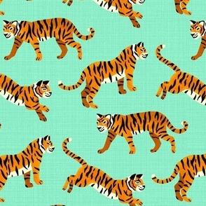 Bengal Tigers - Mint (Medium Version)