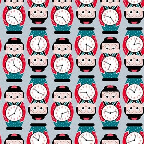 Japanese Kitsch Poppo Clocks LC