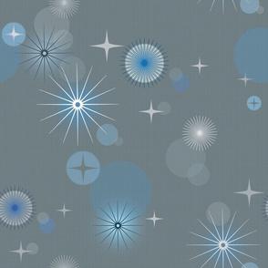 Atomic Blue Stars
