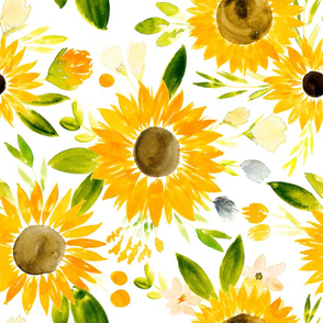 sunflower fields for fall - large