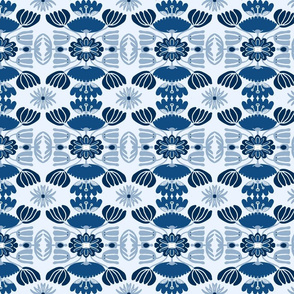 ELEGANT BLUE FLORAL